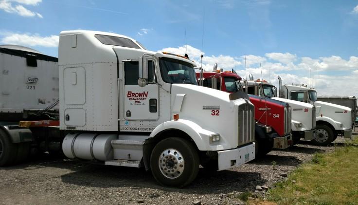 Trucks in the 30's